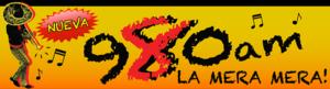 KFWB - Image: KFWB La Mera Mera 980 logo