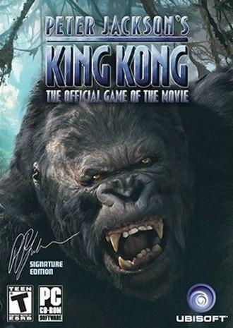 Peter Jackson's King Kong - Image: King kong cover pc