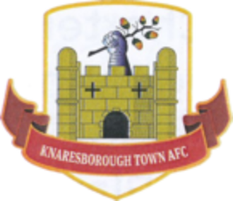 Knaresborough Town A.F.C. - Image: Knaresborough Town F.C. logo
