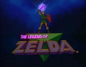 The Legend of Zelda (TV series) - Title screen, shown at the beginning of the show