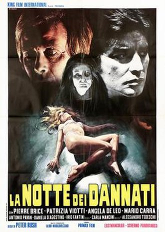 The Night of the Damned - Image: La notte dei dannati italian movie poster md
