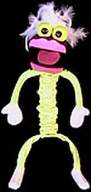 Puppet - A black light puppet