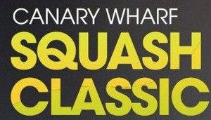 Canary Wharf Squash Classic - Image: Logo Canary Wharf Squash Classic