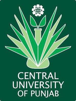 Central University of Punjab - Central University of Punjab logo