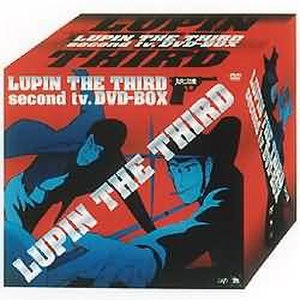 Lupin the Third Part II - Image: Lupin DVD Cover