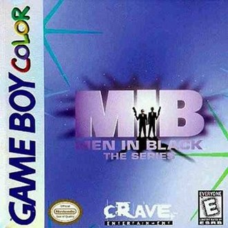 Men in Black: The Series (video game) - Image: MIB Series game cover