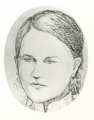 Magdelaine Laframboise - Artist's depiction from descriptions