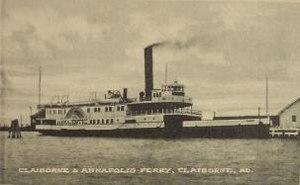 Claiborne–Annapolis Ferry Company - Image: Majestic 2
