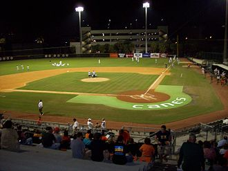 Miami Hurricanes - The home venue for Miami Hurricanes baseball is Mark Light Field at Alex Rodriguez Park on the campus of the University of Miami.