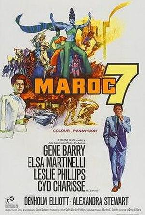 Maroc 7 - Film poster by Renato Fratini