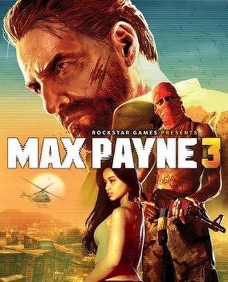 Max Payne 3 - Image: Max Payne 3 Cover