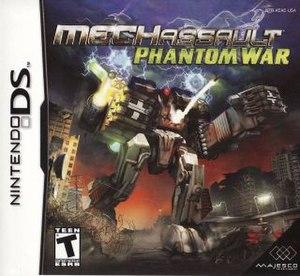 MechAssault: Phantom War - Image: Mech Assault Phantom War Box
