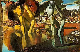 narcissus mythology  metamorphosis of narcissus salvador dali