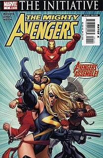 <i>The Mighty Avengers</i> Comic book series