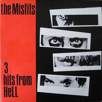 3 Hits from Hell - Image: Misfits 3 Hits from Hell cover
