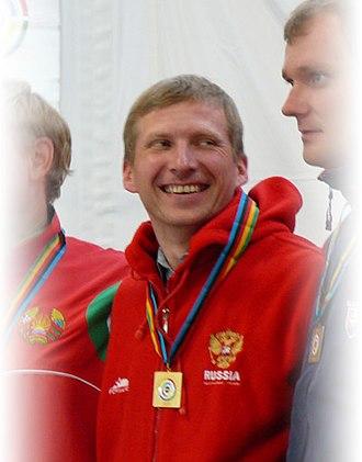 Mikhail Nestruyev - Image: Misha 2007 WC Munich