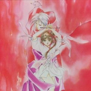 Vampire Princess Miyu - Miyu and Larva, the two main characters, as depicted in the manga.