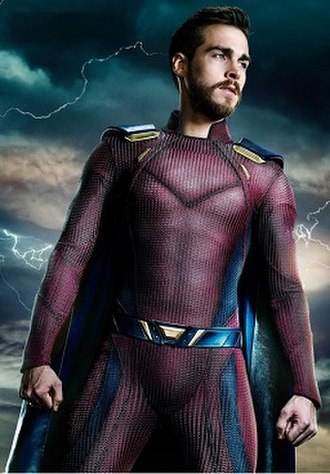 Lar Gand - Chris Wood as Mon-El in the television series Supergirl.