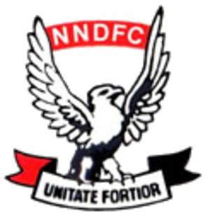 New Norfolk District Football Club - Image: New norfolk fc logo