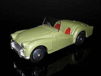 Corgi Toys - 305 Triumph TR3