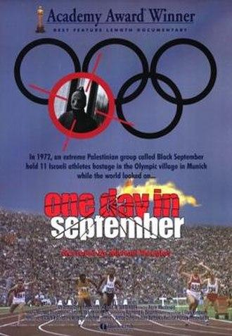 One Day in September - Cinema poster
