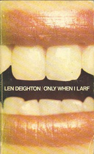 Only When I Larf - First edition cover