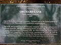 Orchard lane plaque panoramic way berkeley.JPG
