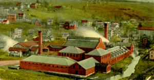 Pennsylvania Match Company - Match Factory in the 1900s