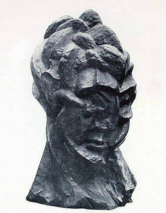 Fernande Olivier - Pablo Picasso, 1909–10, Head of a Woman (Fernande), modeled on Fernande Olivier
