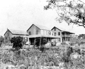 Peacock Park - Image: Peacock Inn, 1880s