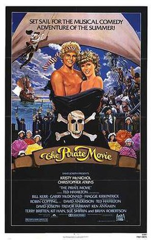The Pirate Movie - Theatrical release poster