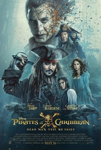 Pirates of the Caribbean: Dead Men Tell No Tales - Theatrical release poster