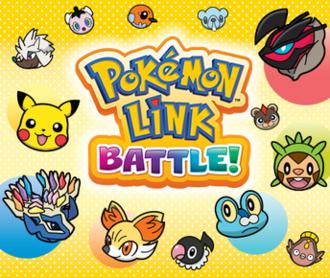 Pokémon Battle Trozei - European marketing artwork