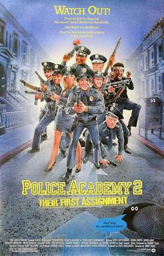 Police Academy 2: Their First Assignment - Theatrical poster by Drew Struzan