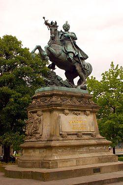 Monument to King John III Sobieski, formerly placed in Lwów
