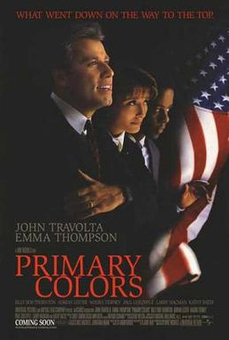 Primary Colors (film) - Promotional film poster