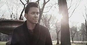 """Las Cosas Pequeñas - Prince Royce in the music video for """"Las Cosas Pequeñas""""."""