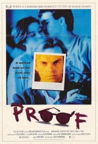 Proof (1991 film) - Film poster