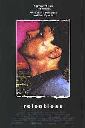 Relentless (1989 film) - Theatrical Release Poster
