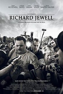 <i>Richard Jewell</i> (film) 2019 American biographical drama film directed by Clint Eastwood