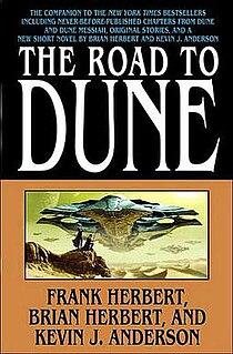 <i>The Road to Dune</i> novel by Brian Herbert