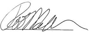 Rob Nicholson - Image: Rob Nicholson Signature