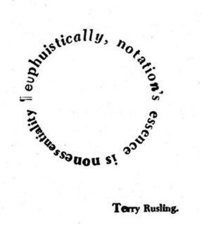 Terry Rusling Musical artist