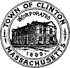 Official seal of Clinton, Massachusetts