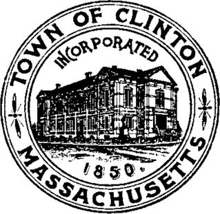 Official seal of Clinton, Massachusetts