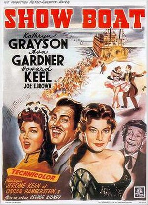 Show Boat (1951 film) - French film poster