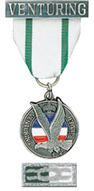 Summit Award - Medal and knot