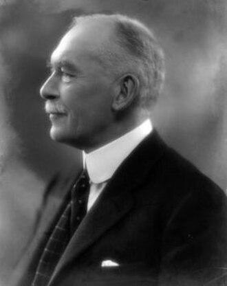 Sir Harry Goschen, 1st Baronet - Sir Harry in 1927