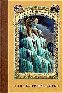 <i>The Slippery Slope</i> novel by Lemony Snicket