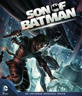 <i>Son of Batman</i> 2014 animated feature film directed by Ethan Spaulding